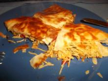 Paprika-Pastilla mit Fadennudeln - Rezept