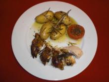 Das perfekte Huhn mit Rosmarinkartoffeln - Rezept