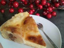 Bratapfel-Kuchen mit Schmand - Rezept