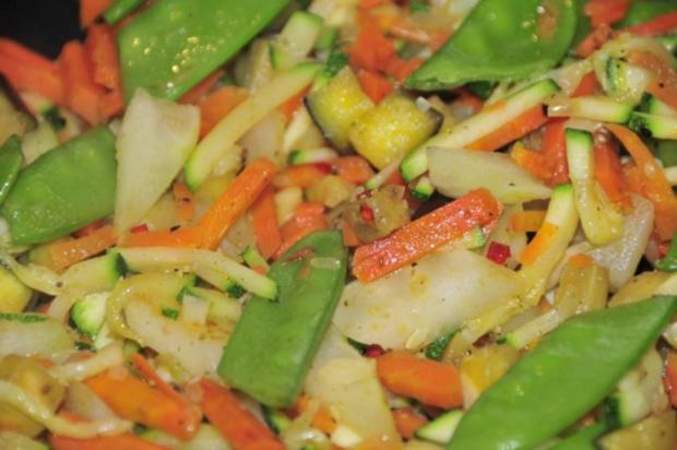 Tomaten Gnocchi mit Röstgemüse - Rezept - Bild Nr. 7