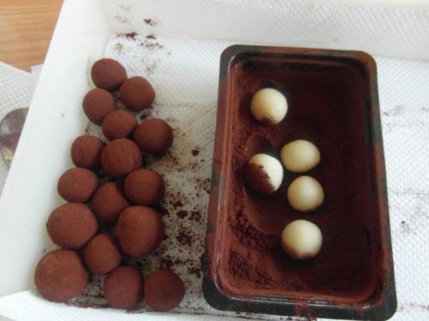 Lebkuchen-Marzipan-Kugel.    ( aus harten Lebkuchen-Restbeständen ) - Rezept - Bild Nr. 5