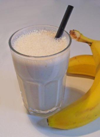 Bananen Milchshake - Rezept