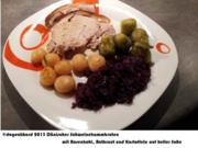 Schweinekammbraten österreichisch dänisch, østrigsk Svinekamsteg med dansk tilbehør - Rezept