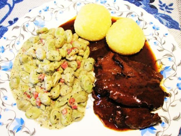Dicke Baby-Bohnen (Habas baby) - Rezept