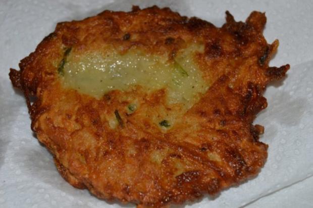 Lepcsánka ( az igazi) - ungarische Kartoffelpuffer - Rezept - Bild Nr. 2
