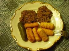 Würzige Bohnenbratlinge mit Haferflocken (auch für Burger geeignet!) - Rezept
