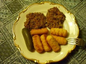 Rezept: Würzige Bohnenbratlinge mit Haferflocken (auch für Burger geeignet!)