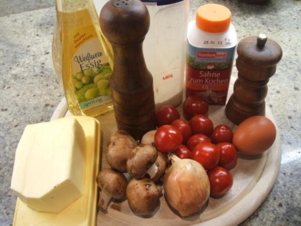 Quiche: Tomaten-Quiche - Rezept - Bild Nr. 3
