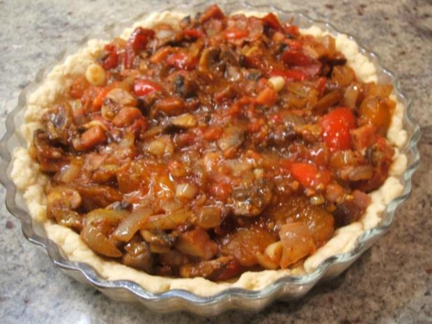 Quiche: Tomaten-Quiche - Rezept - Bild Nr. 9