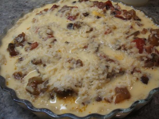 Quiche: Tomaten-Quiche - Rezept - Bild Nr. 11