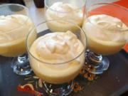 Orangenmousse mit Rahmschaum - Rezept