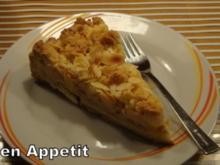 Apfel-Birnen Streusel Tarte - Rezept