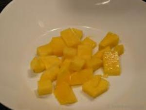 Mango  süß und sauer - Rezept
