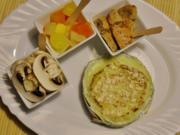 Petite fondue au fromage - Rezept