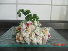 """Grüner Salat""- Gemüse-Tofu-Salat - Rezept"