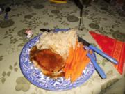 Schweinesteaks in Cidresauce>> - Rezept