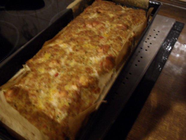 Hackbraten gefüllt mit Lauch und Champignons aus dem Ofen - Rezept - Bild Nr. 9