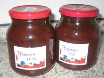 ... mit Pflaumenmus - Rezept