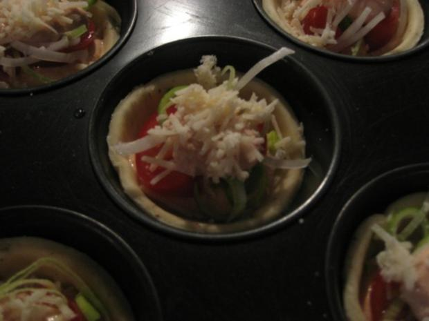 Mini-Tomaten-Küchlein - Rezept - Bild Nr. 4