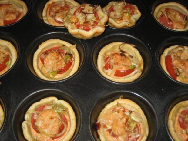 Mini-Tomaten-Küchlein - Rezept