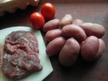 Steak vom Angus-Rind mit Ofenkartoffeln,Spargel und Sauce  Hollandaise - Rezept