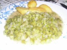 Senffisolen (grüne Bohnen) - Rezept
