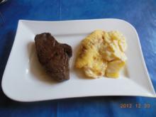 Kochen:Wagyusteak mit Kartoffelgratin - Rezept