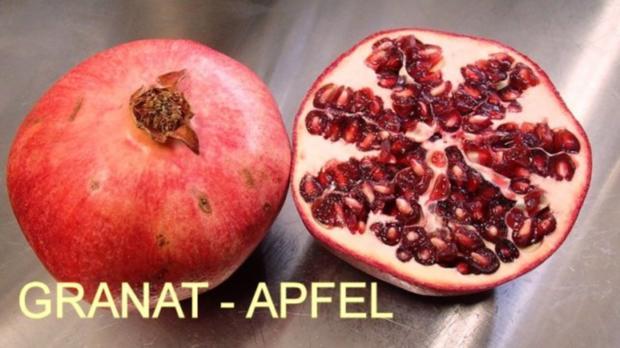 Gebackener-Ziegenkäse auf Honig-Granatapfel - Rezept - Bild Nr. 2