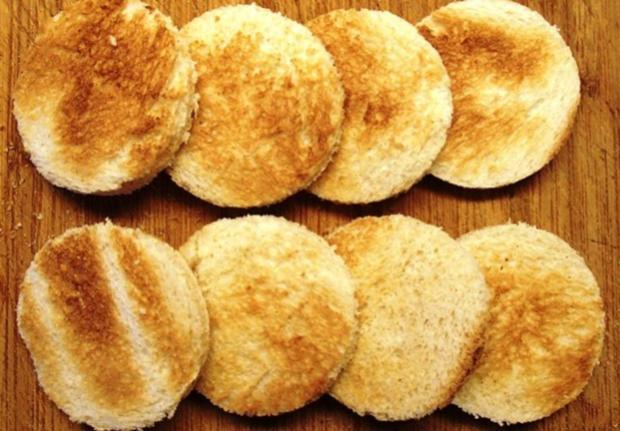 Gebackener-Ziegenkäse auf Honig-Granatapfel - Rezept - Bild Nr. 8