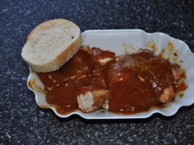 Currywurst mit selbstgekochter Soße - Rezept