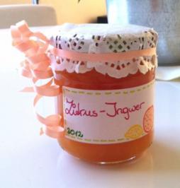 Rezept: Zitrus-Marmelade mit Ingwer