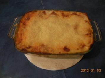 Rezept: Auflauf: Lasagne