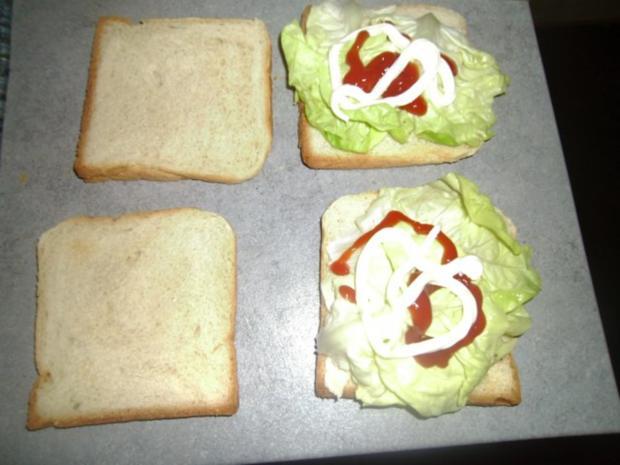 Toastbrotburger - Rezept - Bild Nr. 6