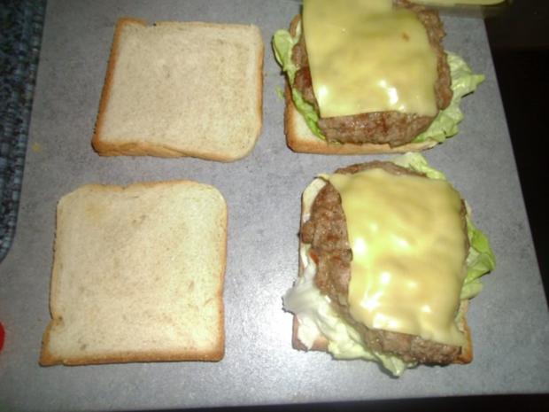 Toastbrotburger - Rezept - Bild Nr. 7
