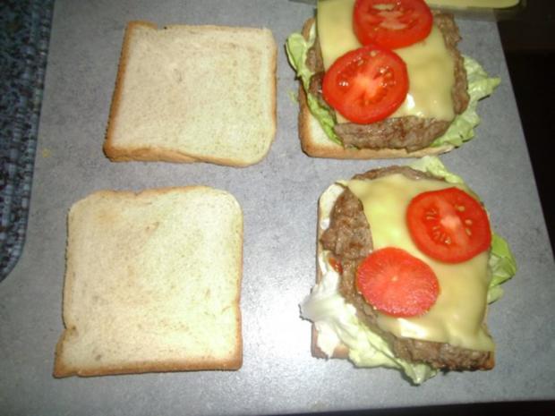 Toastbrotburger - Rezept - Bild Nr. 8