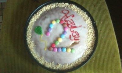 Rezept: Geburtstagskuchen
