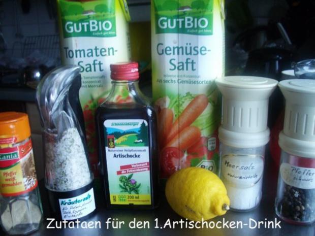 Abnehmen - na und  - mit Drinks die gesund sind und trotzdem schmecken - Rezept - Bild Nr. 2