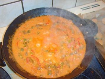 Joghurt - Gemüse - Wok - Rezept