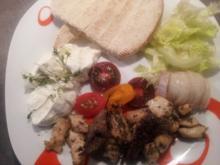 """Gyros Pita mit 2 Variationen Fleisch """"Hellas"""" - Rezept"""