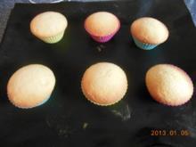Kuchen. Feen-Muffins habe ich heute mit meiner Enkeltochter gebacken - Rezept