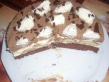Schoko-Banane Torte - Rezept