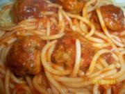 spaghetti americano - Rezept