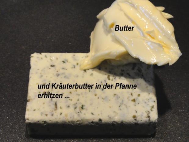 Fisch:   LACHSFORELLEN-FILET in Kräuterbutter - Rezept - Bild Nr. 4