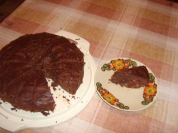 Rezept: Besoffene Apfel-Walnuss-Torte