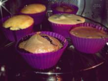 Blaubeer Schokoladen / Zitronen Muffins - Rezept
