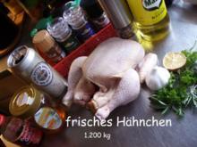 Hähnchen auf der Bierdose - Rezept