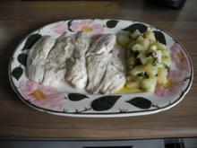 Fisch : Kohlenhydratefrei ... Gedünsteter Tilapia ... satt ... mit Kohlrabigemüse - Rezept