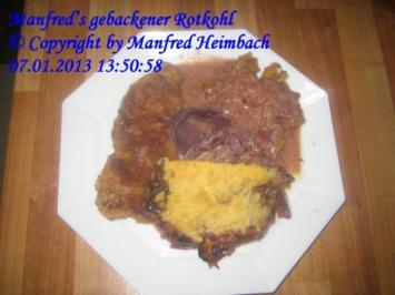 Gemüse – Manfred's gebackener Rotkohl - Rezept