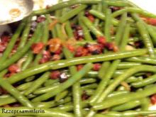 Gemüse:   frische feine BÖHNCHEN - Rezept
