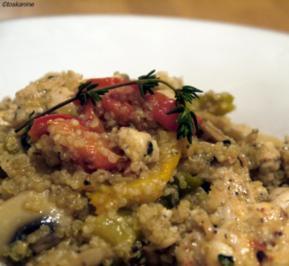 Hähnchen-Quinoa-Pfanne - Rezept
